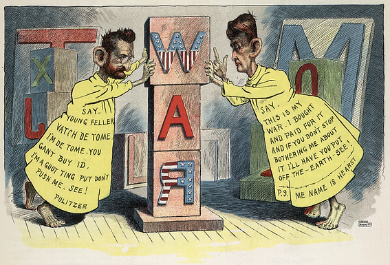The Origin of Yellow Journalism: How Sensationalism Led to Imperialism