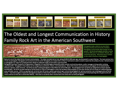 The Oldest and Longest Communication in History Family Rock Art in the American Southwest