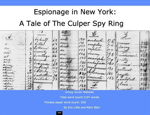 Espionage in New York: A Tale of The Culper Spy Ring