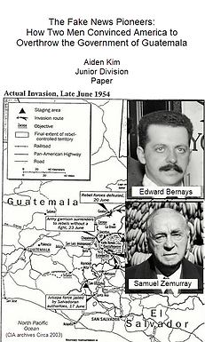 The Fake News Pioneers: How Two Men Convinced America to Overthrow the Government of Guatemala