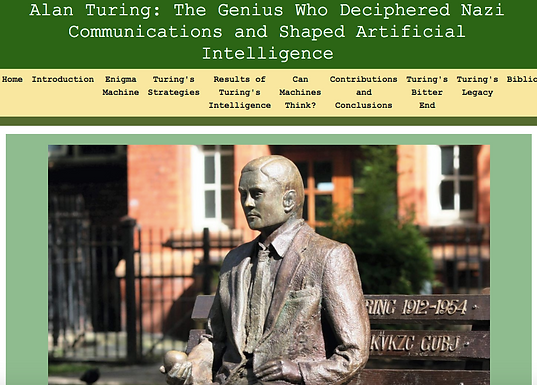 Alan Turing: The Genius Who Deciphered Nazi Communications and Shaped Artificial Intelligence