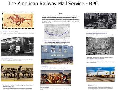 The American Railway Mail Service