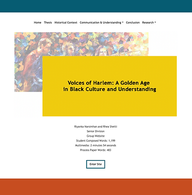 Voices of Harlem: A Golden Age in Black Culture and Understanding