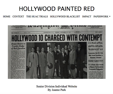 Hollywood Painted Red