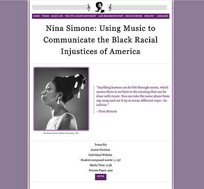 Nina Simone: Using Music to Communicate the Black Racial Injustices of America