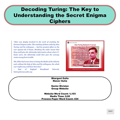 Decoding Turing: The Key to Understanding the Secret Enigma Ciphers