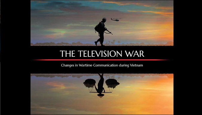 The Television War: Changes in Wartime Communication in Vietnam