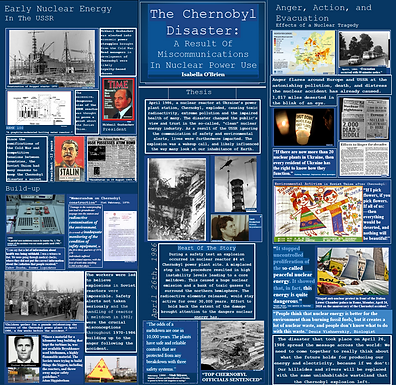 The Chernobyl Disaster: The Result of Miscommunications in Nuclear Power Use