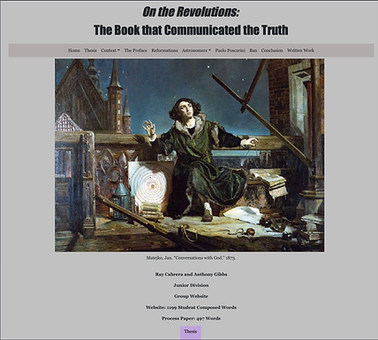 On the Revolutions: The Book that Communicated the Truth