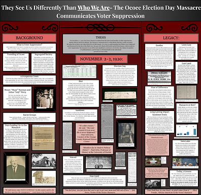 They See Us Differently Than Who We Are - The Ocoee Election Day Massacre Communicates Voter Suppression