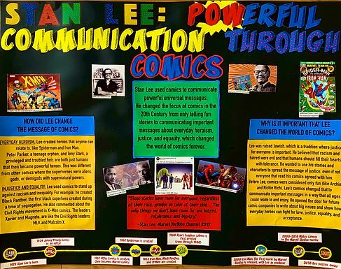 Stan Lee: POWerful Communication Through Comics
