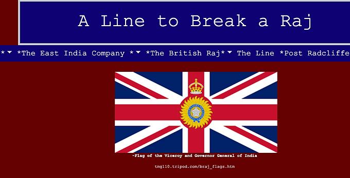A Line to Break a Raj