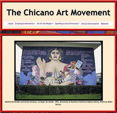 The Chicano Art Movement