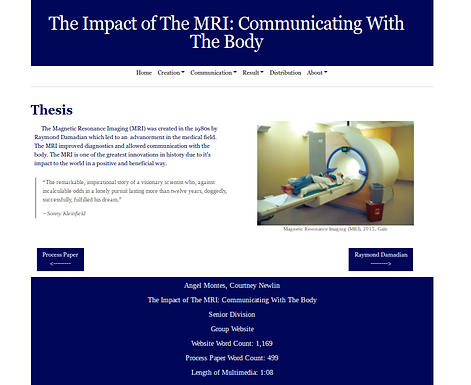 The Impact of the MRI: Communicating with the Body