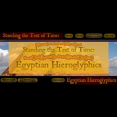 Standing the Test of Time: Egyptian Hieroglyphs