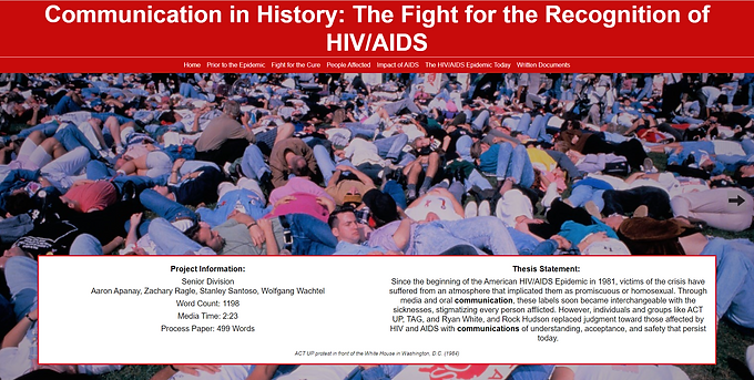 Communication in History: The Fight for the Recognition of HIV/AIDS