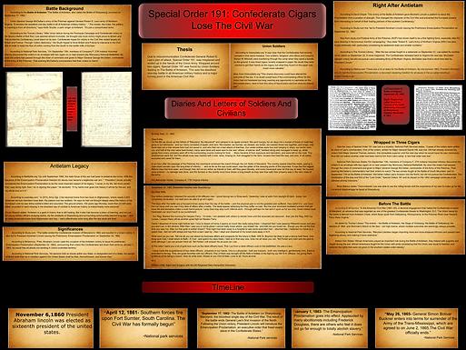 Special Order 191: Confederate Cigars Lose the Civil War