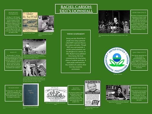 Rachel Carson: DDT's Downfall