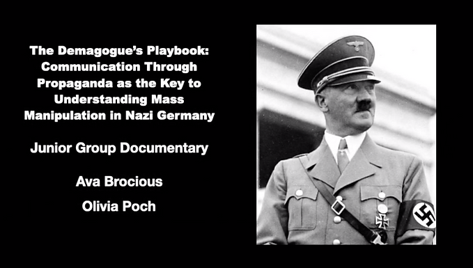 The Demagogue's Playbook: Communication Through Propaganda as the Key to Understanding Mass Manipulation in Nazi Germany