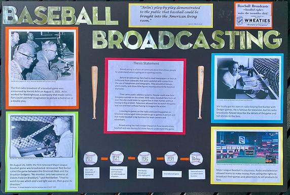 History of Baseball Broadcasting