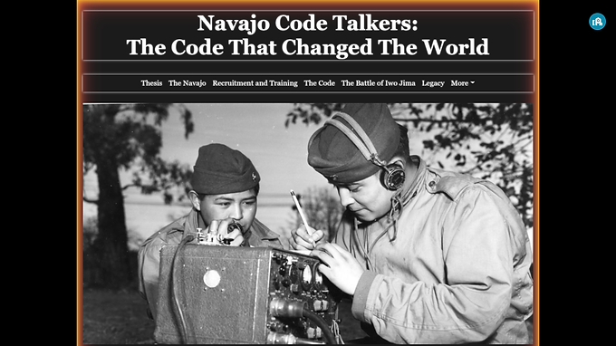 Navajo Code Talkers: The Code That Changed the World