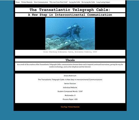 The Transatlantic Telegraph Cable: A New Step in Intercontinental Communications