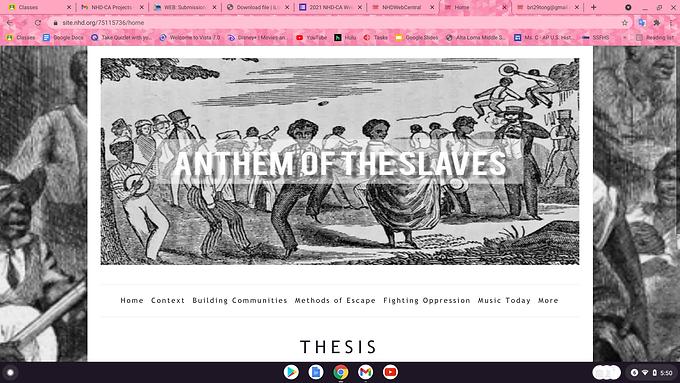 Anthem of the Slaves