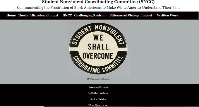 Student Nonviolent Coordinating Committee:  Communicating the Frustrations of African Americans to Make White America Understand Their Pain