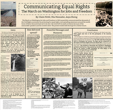 Communicating Equal Rights: The March on Washington for Jobs and Freedom