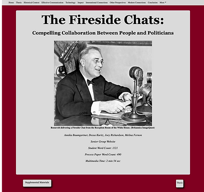 The Fireside Chats: Compelling Collaboration between People and Politicians
