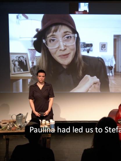 Paulina performance with Kana Theaterng
