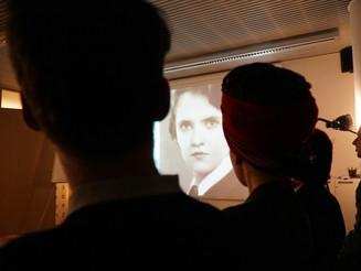 Paulina in-process presentation @ POLIN Museum 1.31.19