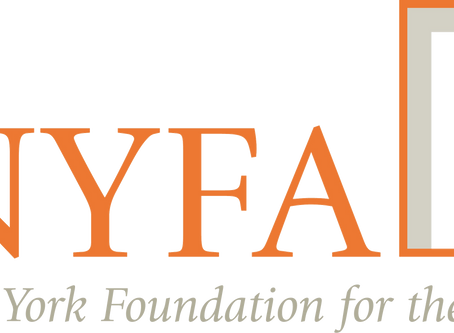 Mentoring artists with NYFA this fall.