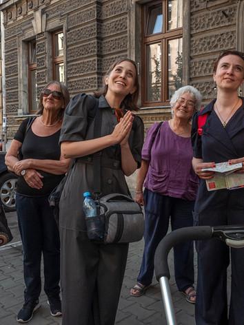 Paulina's Kraków exploratory walk