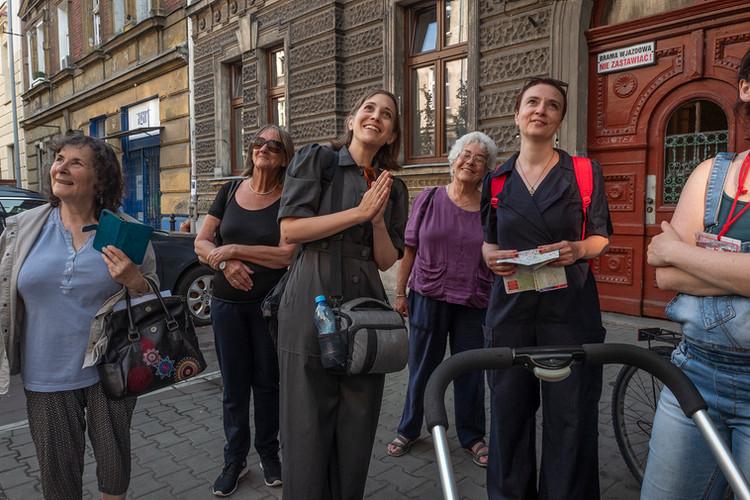 Exploratory walking tour of Paulina's Krakow, organized with Festivalt 2019