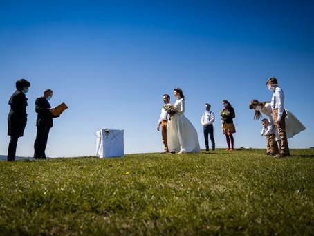 Svatba za časů koronaviru
