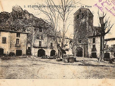 Saint-Guilhem-le-Désert il y a cent ans : l'Escoutaïre