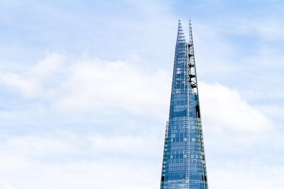 The Shard in London, UK. Photo by Dimitry Anikin on UpSplash.