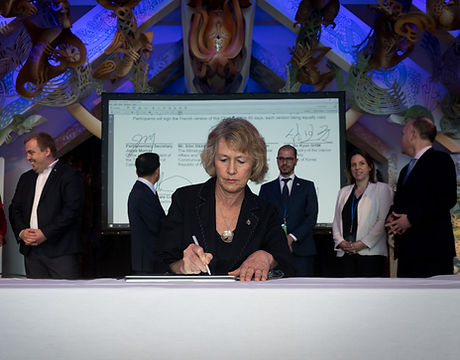 Canada signing D7 Charter