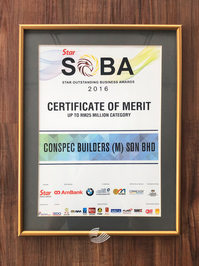 Star Outstanding Business Award