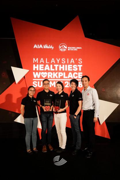 Malaysia's Healthiest Workplace 2018
