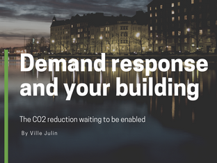 Demand response and your building – the CO2 reduction waiting to be enabled