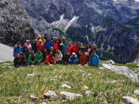 Bergbericht Tag 4:  Vom Karwendelhaus zur Östlichen Karwendelspitze (2537 m) und wieder zurück