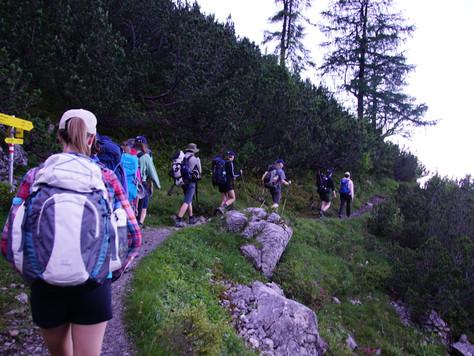 Bergbericht Tag 6: Von der Hochlandhütte nach Mittenwald