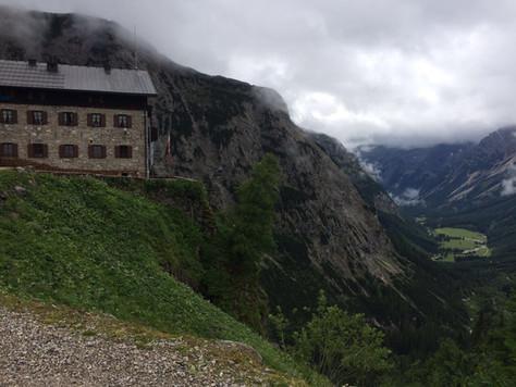 Bergbericht Tag 3: Von der Falkenhütte zum Karwendelhaus