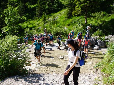 Bergbericht Tag 5: Vom Karwendelhaus zur Hochlandhütte