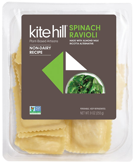 Kite Hill Spinach Ravioli