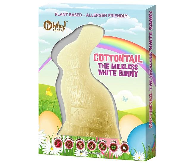 No Whey! Cottontail White Chocolate Bunny
