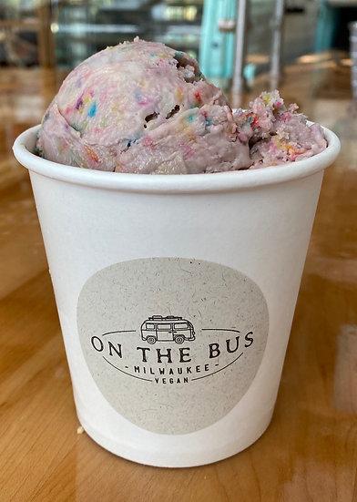 On The Bus Housemade Ice Cream Pint - Birthday Cake