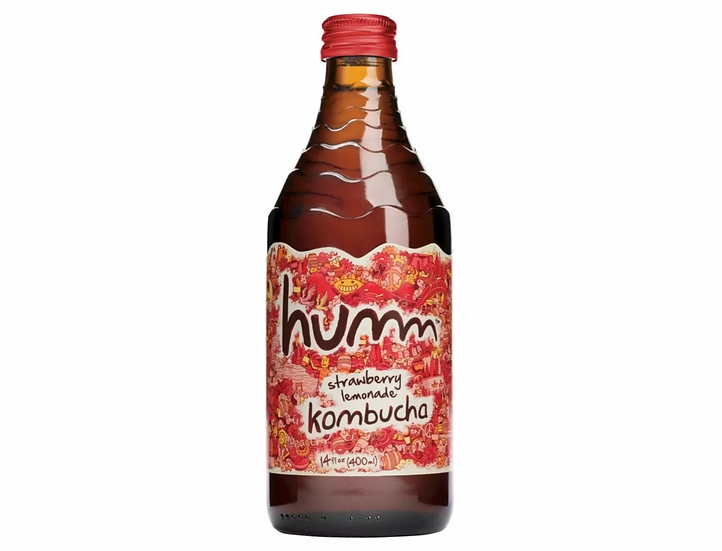 Humm Strawberry Lemonade Kombucha